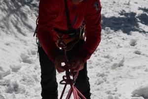 Zimné preskúšanie, Pozemná záchrana