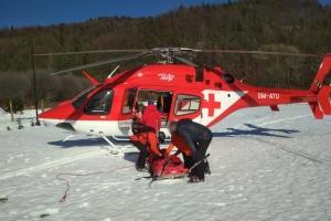 Práca v súčinnosti s leteckou záchrannou službou