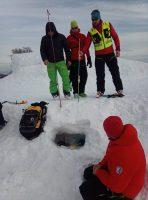Interné preškolenie zamerané na prácu s lavínovými vyhľadávacími prístrojmi
