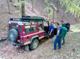 Záchranná akcia pod Mažarnou
