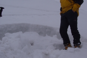 Zimná terénna služba na Borišove, 2008