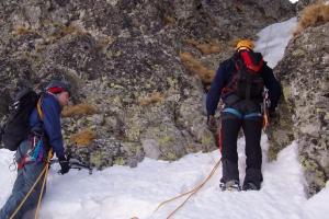 Kurz základnej záchrannej činnosti, Vysoké Tatry, 2008