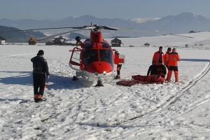 Vrtuľník v Snowlande, 2015