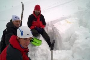 Zimný výcvikový tábor, Derešský kotol 2016