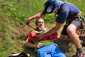Ukážky záchranárskych techník, Necpaly 2016
