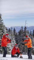 Nácvik hľadania v lavíne