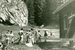 Letný výcvikový tábor v Dedošovej, 1983