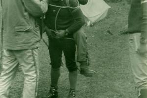 Letný tábor v Žarnovickej doline, 1985