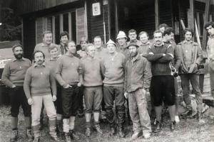 Brigádnici na ZS na MH, 1983