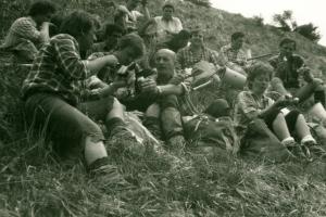 Zalesňovanie na Ostredku, 1988