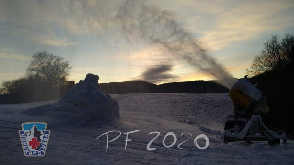 Začiatok zimnej sezóny 2019/2020