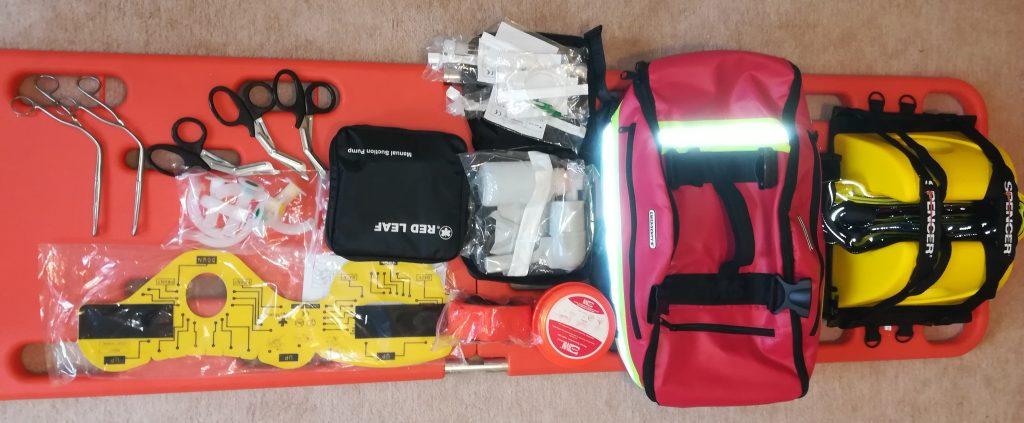 Nové zdravotnícke a záchranárske vybavenie